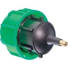 Bouchon fin de ligne + valve PLASSCOM FIBRE - 121209V