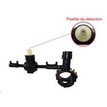 Kit de branchement eau (à assembler) - Fermeture sens anti-horaire - Carré de 30 - 21010