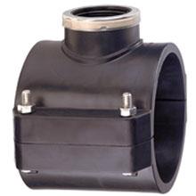 Collier de prise PN16 avec bague de renforcement en acier inoxydable - 6279