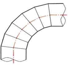 Coude à 90° à embouts mâles - PE100 SDR 7.4 - 9059S