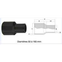 Réduction à embouts mâles - PE100 SDR7,4 - 9119