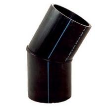 Coude à 30° à embouts mâles - PE100 SDR17 (Segments) - 95371