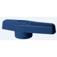 Poignée bleu foncé pour vannes Teknica+ ACS - VOHARTA