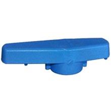 Poignée bleue pour vannes TEKNICA - VOHART