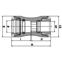 Manchon de transition PE-Cuivre 1001C