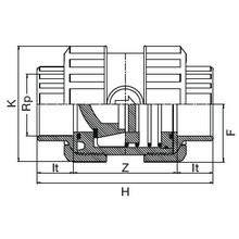 Clapet de retenue taraudé -   Joints EPDM 1061