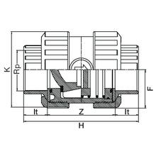 Clapet de retenue taraudé - Joints EPDM 1081