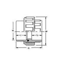 Manchon union 3 pièces à coller - Joints EPDM 5080