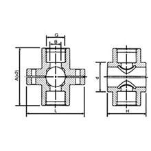 Collier de prise double avec bague de renforcement en acier inoxydable 6176