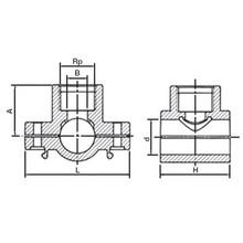 Collier de prise PN16 avec bague de renforcement en acier inoxydable 6279