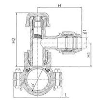 Prise de branchement TAPPER pour tubes PVC et PE - Dérivation à compression 6540