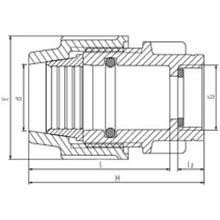 Raccord femelle - Taraudage ISO 228 7060