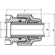 Kit d'adaptation pour tube cuivre 7438