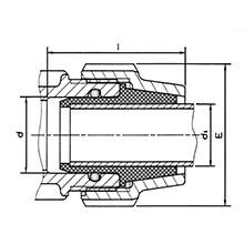 Adaptateur pour tube cuivre 7896