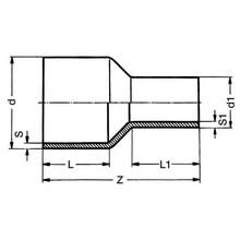 Réduction à embouts mâles - PE100 SDR17 9117