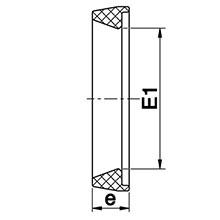 Joint trapèze EPDM 97910